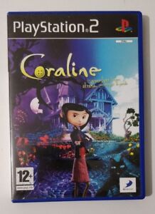 Coraline Ps2 As New Italian Playstation 2 Rare Complete No Phoenix Games Ebay