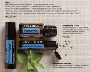 30-OFF-doTERRA-Refreshing-Peppermint-TRIO-Therapeutic-Essential-Oil-Aromatherapy