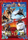 Cats and Dogs / Cats and Dogs - The Revenge of Kitty Galore (DVD, 2010, 2-Disc Set)