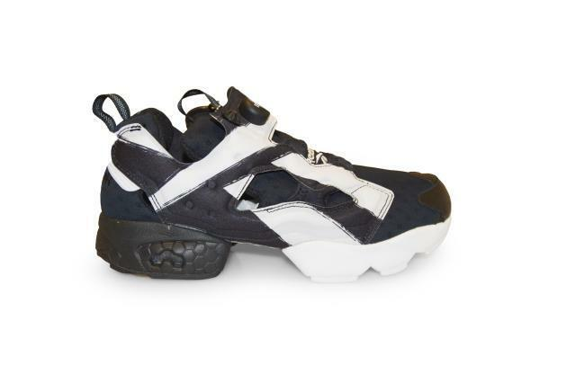 Mens Reebok Instapump Fury OB  - AR0460 - Black White Trainers