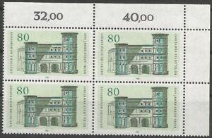 Federal-Frg-Minr-1197-Mint-Block-of-Four-Corner-2-Unfolded