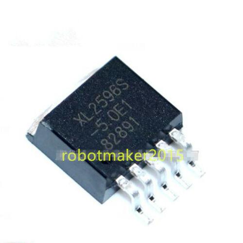 5//10PCS XL2596S-5.0E1 TO-263-5 XL2596S-5 (LM2596S-5.0) Voltage Regulator