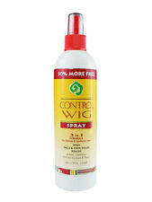 Control Wig Spray 3-in-1 Formula 12oz For Natural & Synthetic Hair & braids