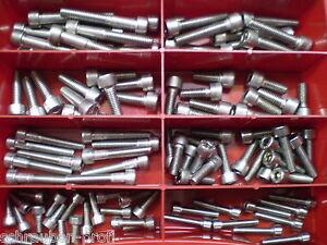 25 St/ück Sechskantmuttern M8 DIN 934 Falk-Schrauben NIRO V2A Edelstahl A2