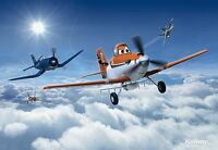 Wall Mural Planes Above The Sky - Disney Photo Wallpaper Large Wall Art For Kids