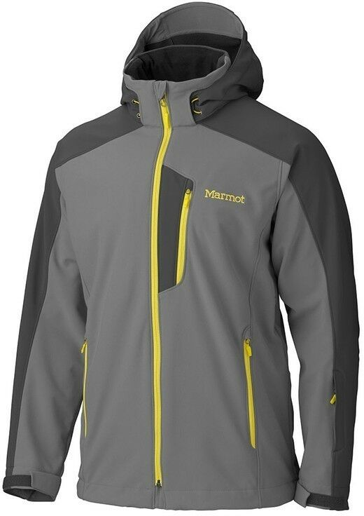 Marmot Winter Softshell Vertical Jacket Mens, cinder - dark granite  Größe L
