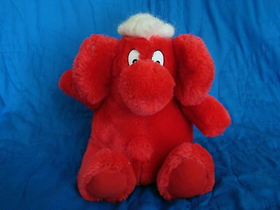 "Kodak Kolorkins Kosmic 9/"" Red Plush Kolorkin"