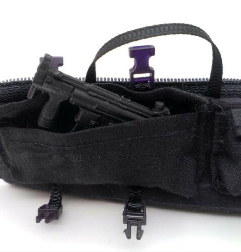 No Figure 10cm Black Gun Bag for Mezco Punisher Marvel Legends