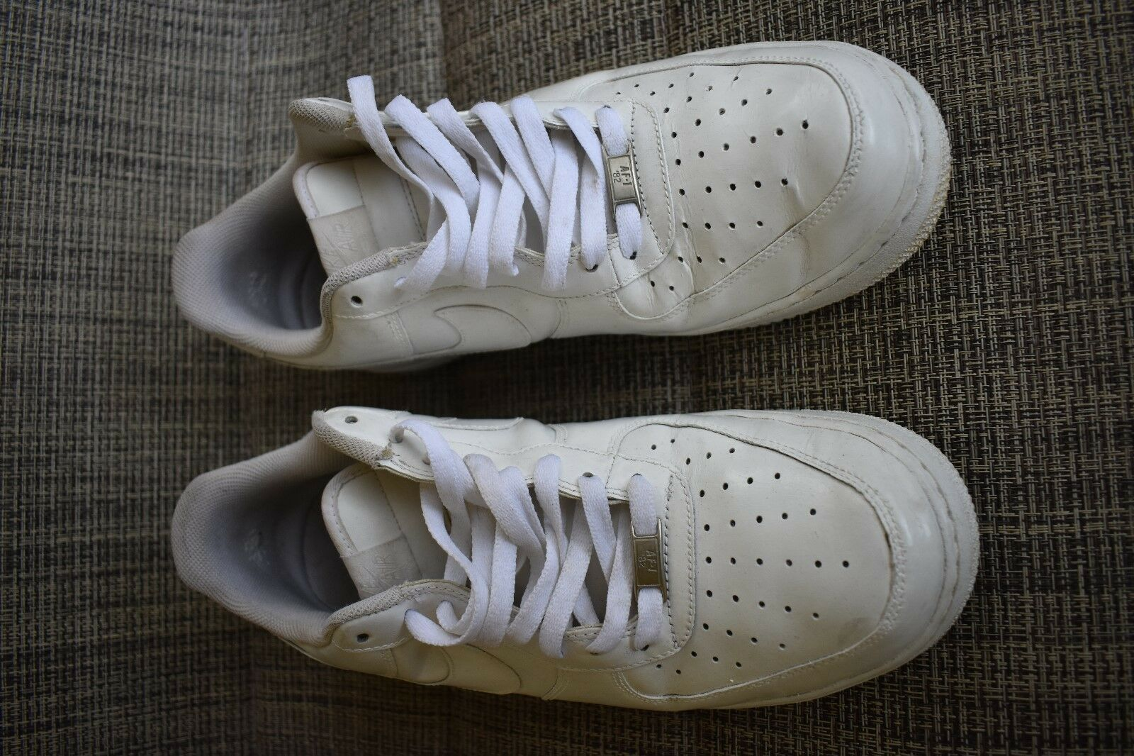 NIKE AIR FORCE 1 MENS WHITE SHOES SIZE 13 SNEAKERS Wild casual shoes