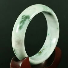 Certified 61mm Imperial Green Bangle Bracelet  Untreated Grade A Jadeite Jade