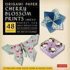Cherry Blossoms Patterns Origami Paper for Small Projects or The Beginn