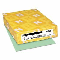 Neenah Paper - Exact Index Card Stock, 110 Lbs., 8-1/2 X 11, Green - 250 Sheets