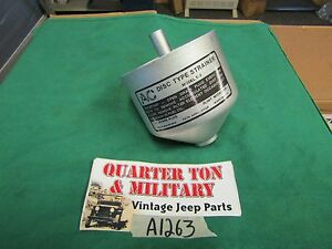 Jeep Willys Mb Gpw Wwii Fuel Filter Replacement Bowl Only Ebay