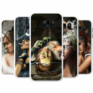 Attractive-Beautiful-Women-Smoking-Hard-Back-Case-Phone-Cover-for-OnePlus-Phones