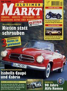 Berichte & Zeitschriften Unter Der Voraussetzung Oldtimer Markt 2000 12/00 Moto Guzzi Nuovo Falcone Parilla Nimbus 911sc Rolletta