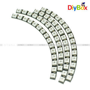 Details about Ring Wall Clock WS2812 5050 60 RGB LED Ultra Bright Lamp  Panel For Arduino DIY