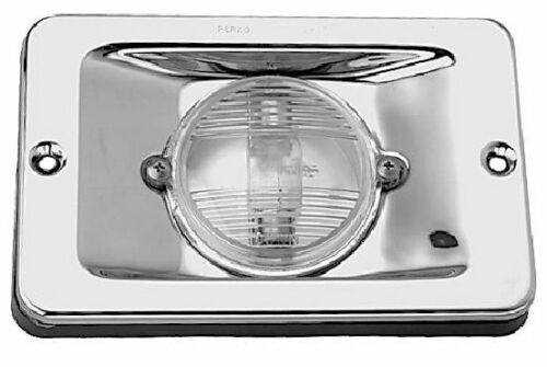 PERKO 939 TRANSOM STERN LIGHT Chrome Brass 3477
