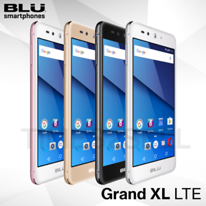 Details about BLU Grand XL LTE G0031WW 16GB Unlocked GSM 4G LTE Dual SIM  Android Phone - New