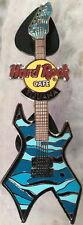 Hard Rock Cafe TIJUANA 2004 Fantasy Guitar Series PIN Blue - HRC Catalog #22787