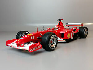 1:18 HOT WHEELS Ferrari F2002 F1 World Champion #1 *Schumacher/ Barrichello* - <span itemprop=availableAtOrFrom>Puschendorf, Deutschland</span> - Rücknahmen akzeptiert - Puschendorf, Deutschland