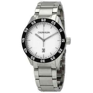 Calvin Klein Complete Quartz Silver Dial Men's Watch K9R31C46