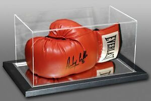 Anthony Crolla Signed Red Everlast Boxing Glove In An Acrylic Case