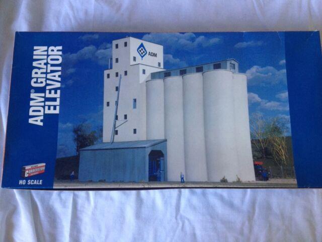 Walthers 933-3022 ADM Grain Elevator HO Scale Cornerstone