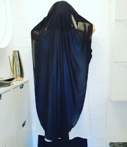 2 Couche Extra Long Round Cut niqab neqab NIKAB nekab