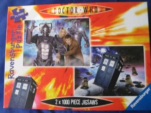Doctor Who-Nueva Serie Serie Serie 2 Rompecabezas-David Tennant hombres cibernéticos & Daleks-Sin Usar e427ab