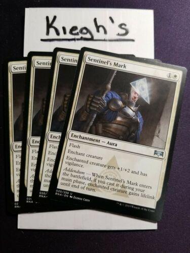 Mtg Sentinel/'s Mark x4