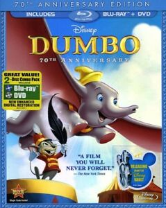Dumbo-New-Blu-ray-With-DVD-Full-Frame-Anniversary-Edition-Dolby-Digital