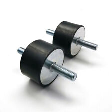 Rubber Mount Anti Vibration M12 Double Male Thread Silentblock 60707580mm