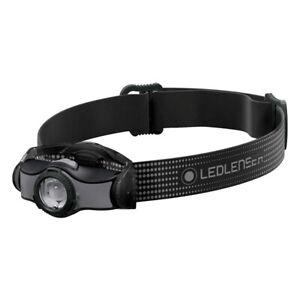 Ledlenser® MH5 400 Lumen LED Rechargeable Head Torch - Black/Grey