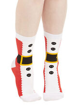 Foot Traffic Soft and Warm Santa Slipper Socks