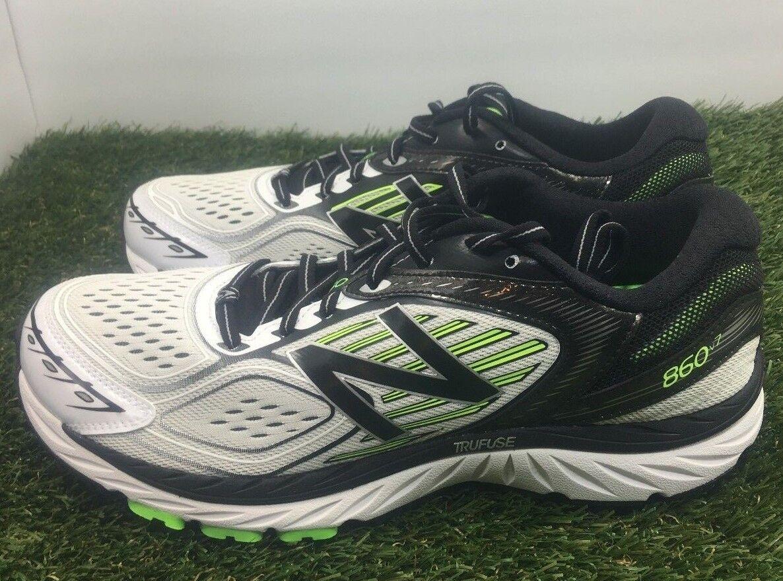 New Balance 860 v7 Running Shoe Trainer  Green 11 Black white M860WB7 Size 11 Green 8c8ffb
