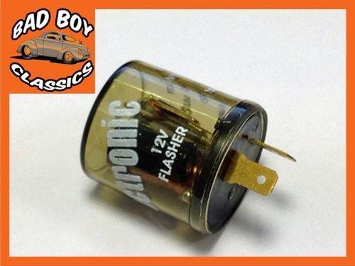 Hot Rod Aggiornare 2 Perno Elettronica Relè Lampeggiatore Ideale Per Kit Car