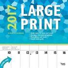 Large Print 2017 Wall Calendar 9781465081032