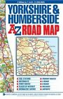 Yorkshire & Humberside Road Map by Geographers A-Z Map Co. Ltd. (Sheet map, folded, 2014)