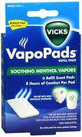 Vicks Vapopads Refill Pads 6 Each (pack Of 7) on sale