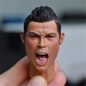 1 6 6 6 Scale Cristiano Ronaldo Roar Ver. Head Sculpt Model Toy For 12  Figure body 6802ac