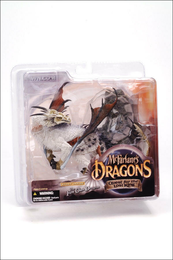 Dragons Series 1 Lost King 5 Action Figure Set New McFarlane Toys 2005
