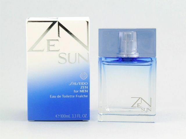 Zen Sun by Shiseido 3.4 oz 100 ml EDT Spray For Men NIB