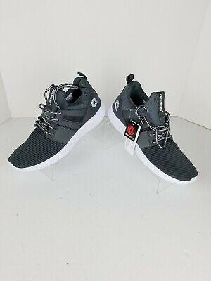 akademiks men's casual fashion sneakers grey shoes size 9