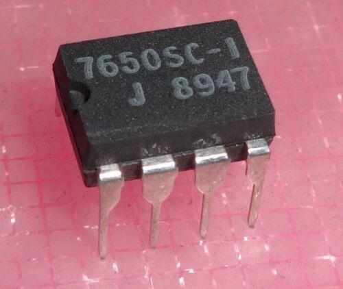7650sc-1 ICL7650sc-1 Chopper-Stabilized Op Amps DIP-8 ...1x