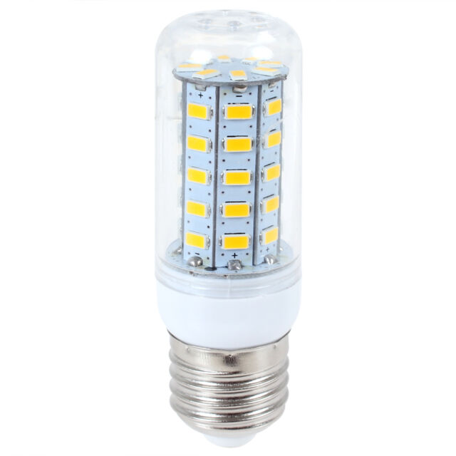 E27 110V/220V 15W 48X CREE 5730 SMD LED 2400LM Corn Home Garden Yard Light Lamp