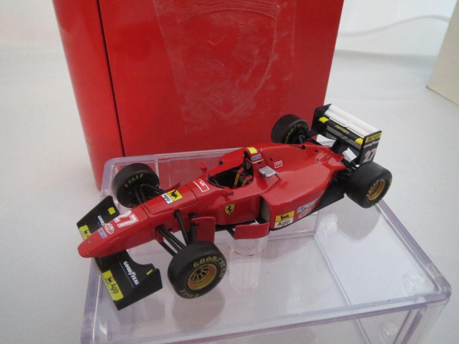 IXO 129434 Model Ferrari 412 T1B  N° 27 J. Alesi GP red, 1 43, TOP + OVP
