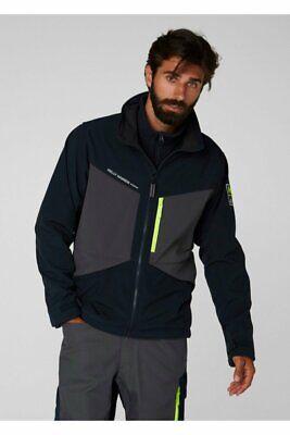 72155 /XXXL /Pack of 1/Helly Hansen Workwear Fleece Jacket/ Dark Grey AKER/