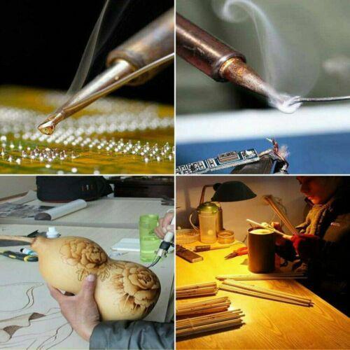 28pcs 220V 60W Wood Burning Pen Soldering Tool Craft Set Pyrography Kit Tips