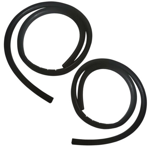 New Set of 2 Window Glass Run Channel Seals for Jeep CJ//Wrangler 1976-1995 Pair