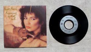 S-DISQUE-VINYLE-45T-7-034-SP-KATE-BUSH-034-RUNNING-UP-THAT-HILL-034-1985-POP-ROCK-EMI